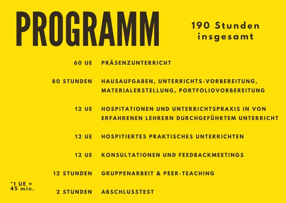 Weiterbildung als DaF Lehrer in Berlin